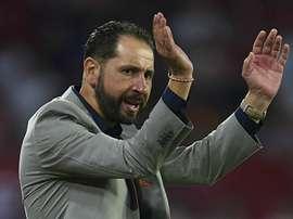 Sevilla hit Akhisarspor for six. Goal
