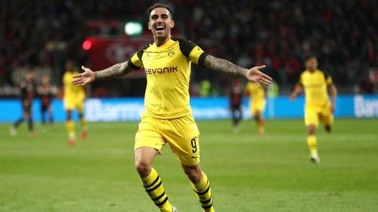 Dortmund poderá comprar definitivamente Alcácer do Barcelona