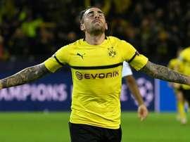 Paco Alcacer Borussia Dortmund BVB Monaco. Goal