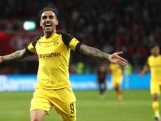 Paco Alcacer Dortmund 2018-19. Goal
