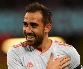 Paco Alcacer Spain 2018. Goal