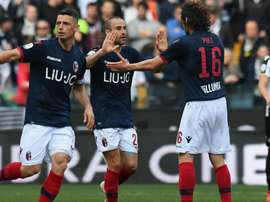 Le formazioni ufficiali di Verona-Bologna. Goal