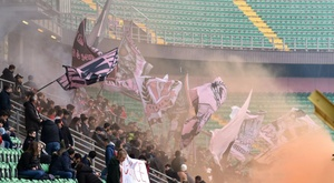 Palermo's fall from grace continues. GOAL