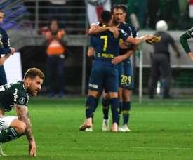 Palmeiras Boca Juniors. Goal