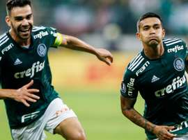 Palmeiras are now in the Copa Libertadores semi-finals. GOAL