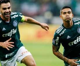 Palmeiras are now in the Copa Libertadores semi-finals. GOAL