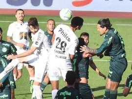 Palmeiras x Santos: Quem venceu mais vezes o Clássico da Saudade?. AFP