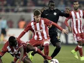 Le jeune défenseur central de l'Olympiakos Panagiotis Retsos. Goal
