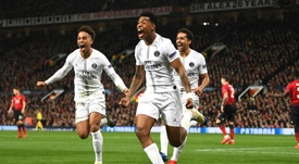 PSG succesfully stifled Manchester United's potent attack. GOAL