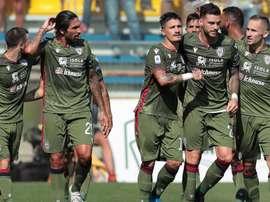 Il Cagliari vince a Parma. Goal