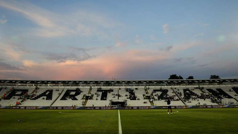 Partizan hit with two-match UEFA stadium ban for racism. GOAL