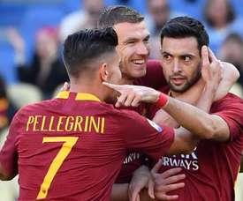 La Roma conserve ses chances de qualification en C1. Goal