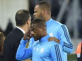 Patrice Evra sous les couleurs de Marseille. GOAL