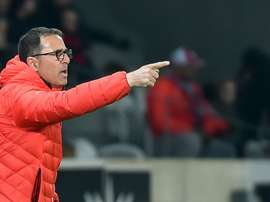 Patrick Collot, entraîneur de Lille. AFP