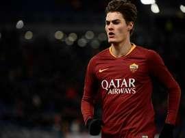 La Roma saluta Patrik Schick. Goal