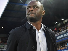 Vieira 300 per cent focused on Nice amid Arsenal links