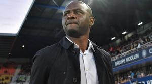Vieira 300 per cent focused on Nice amid Arsenal links