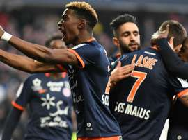 Paul Lasne lors du match Montpellier - Saint-Etienne, Ligue 1. GOAL