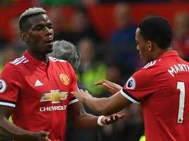 Martial foi o único jogador punido por José Mourinho no Manchester United. Goal
