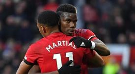 Pogba et Martial forfaits pour affronter Leicester. Goal