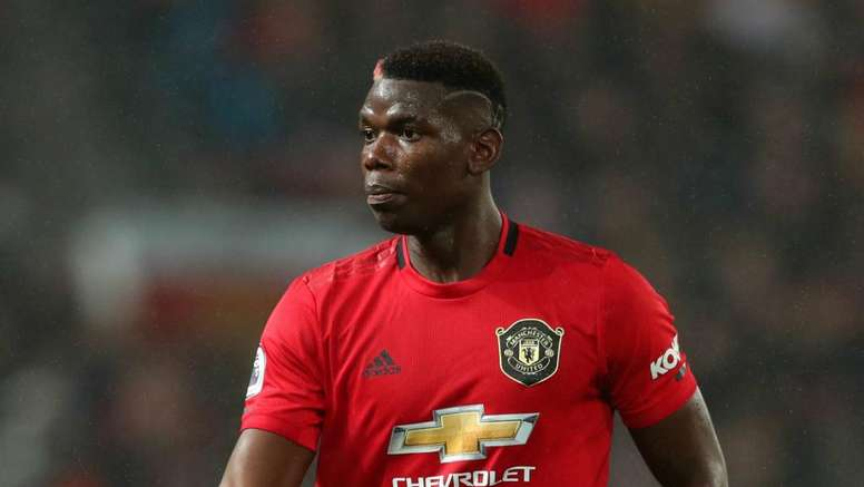 Pogba has cast removed in boost for Man United. AFP