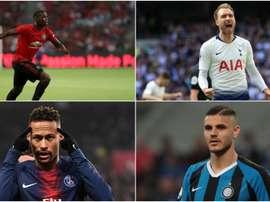 Pogba, Neymar, Eriksen and other stars stuck in transfer limbo. GOAL