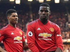 Paul Pogba was not pleased with the performance. GOAL