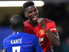 Paul Pogba was instrumental in United's victory over Chelsea. GOAL