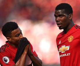 Paul Pogba Jesse Lingard Manchester United