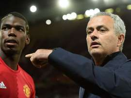 Paul Pogba (L) will play his brother in the Europa League. Goal