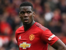 Paul Pogba Manchester United 2018-19. AFP