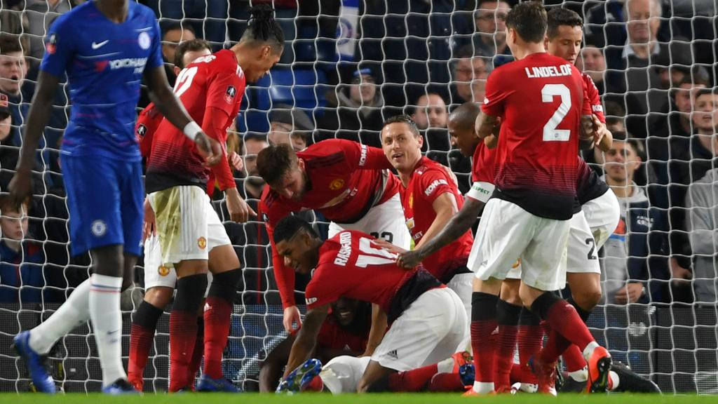 Manchester United se reprend et assomme Chelsea — Coupe d'Angleterre