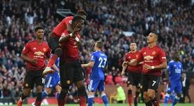 Pogba a marqué le premier but de la saison de PL. Goal