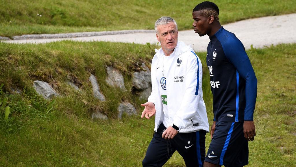 Trois absents à l'entraînement — Equipe de France