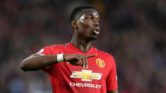 Mourinho insists that Pogba is happy at United. GOAL