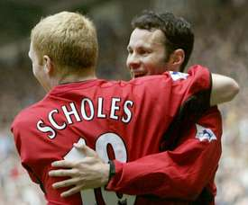 Scholes and Giggs had great careers at Manchester United. GOAL