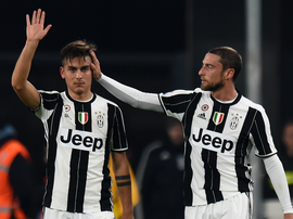 Paulo Dybala Claudio Marchisio Juventus Palermo Serie A