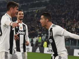 Dybala is happy with Cristiano in Juventus. GOAL