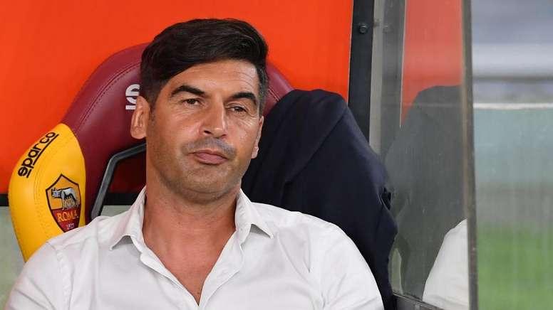 Paulo Fonseca alla vigilia di Roma-Istanbul Basaksehir. AFP