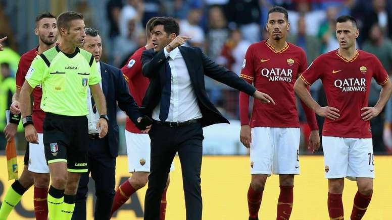 Roma, Fonseca squalificato per due giornate: ricorso dei giallorossi per ridurle a una. Goal