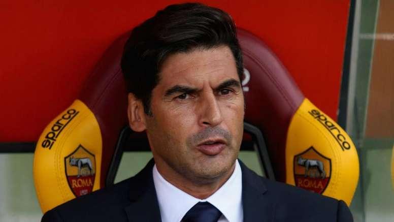 L'allenatore della Roma Paulo Fonseca. Goal
