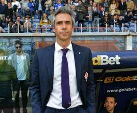 Paulo Sousa : 'Je dois féliciter mes joueurs'. AFP