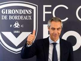Bordeaux prend acte des envies de départ de Paulo Sousa. GOAL