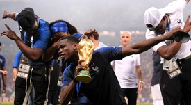Mourinho has praised Pogba's performance at the World Cup in Russia. Goal