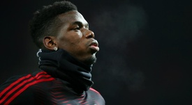 Solskjaer hails Pogba's leadership and focus ahead of Liverpool clash.