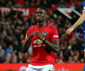 Pogba was not given the captaincy against Rochdale. GOAL