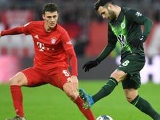 Bayern-Wolfsburg (2-0) - Les Bavarois réalisent la passe de trois. AFP