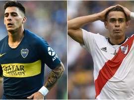Os jogadores de Boca e River que vão perder a finalíssima da Libertadores
