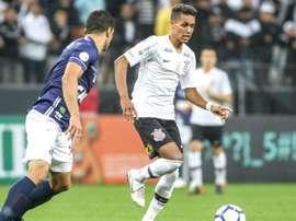 Pedrinho e Renato - Corinthians x Santos. Goal