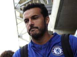 Pedro looked to have suffered a serious injury against PAOK. GOAL